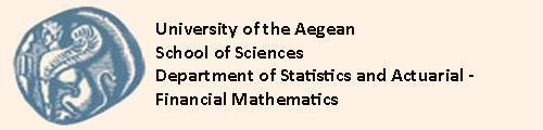 Department of Statistics and Actuarial-Financial Mathematics